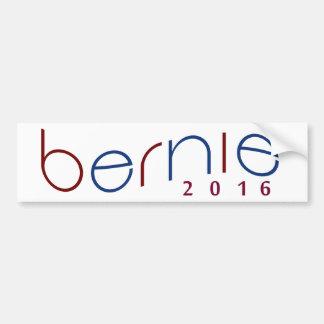 2016 Bernie-Sandpapierschleifmaschinen rot, Autoaufkleber