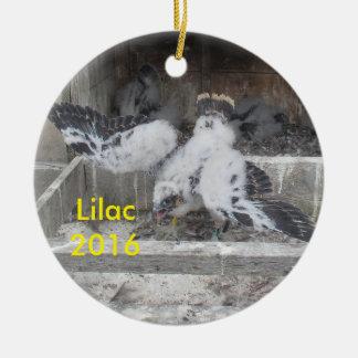 2016 Flieder-Verzierung Keramik Ornament