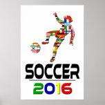 2016: Fußball Posterdrucke