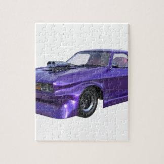 2016 lila Muskel-Auto Puzzle