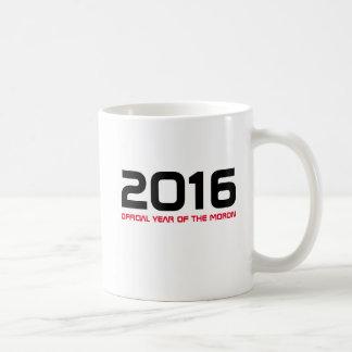 2016 offizielles Jahr der Idiot-Tasse Kaffeetasse