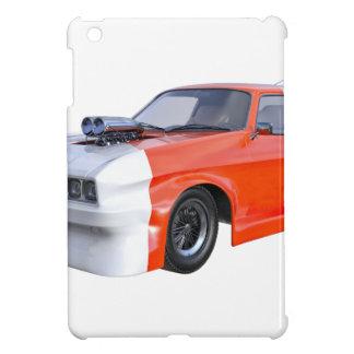 2016 orange und weißes Muskel-Auto iPad Mini Hülle