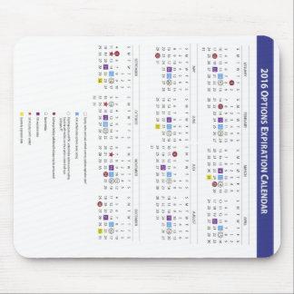 2016 US-Eigenkapitals-Wahl-Verfall-Kalender Mauspad