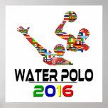 2016: Wasserball Posterdruck