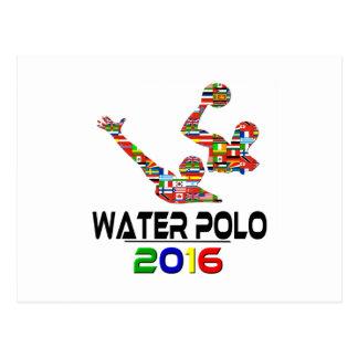 2016: Wasserball Postkarte