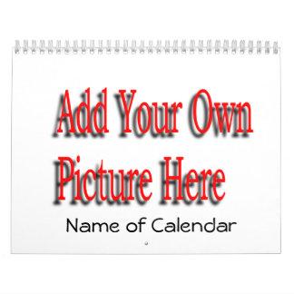 2017 addieren Sie Ihren Bilder Kalender u. JAHR,