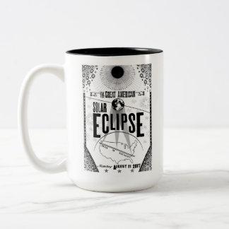 2017 Eklipse-Showprint-Ähnliche Plakat-Tasse Zweifarbige Tasse