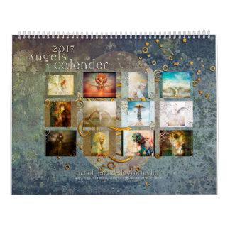 2017 Engels-Kalender Wandkalender