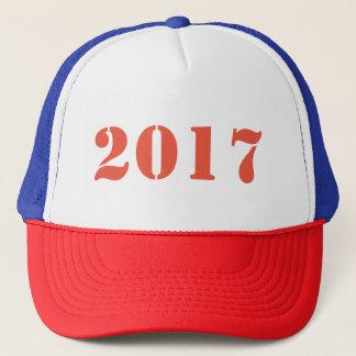 2017 fertigen Sie mit einem Logo, einem Entwurf Truckerkappe