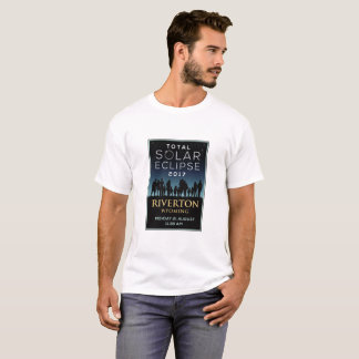 2017 GesamtSonnenfinsternis - Riverton, WY T-Shirt