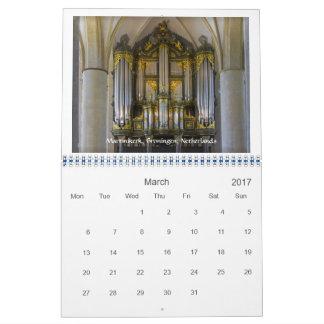 2017-Matter der Direktion - Pfeifenorgelkalender Kalender