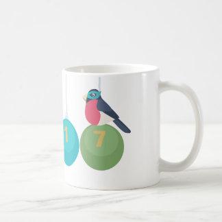 2017 neues Jahr Kaffeetasse