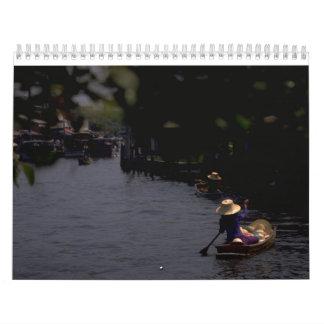 2017 Reise-Anmerkungs-Kalender Kalender