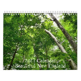 2017 schöner Neu-England Kalender