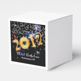 2017 Silvesterabend-Feier Geschenkschachtel