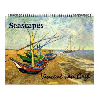 2017 Vincent van Gogh-Meerblick-Seesee Kalender