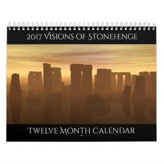 2017 Visionen von Stonehenge Kalender