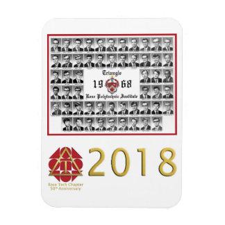 2018 50. Jahrestag versenkt Magneten Magnet