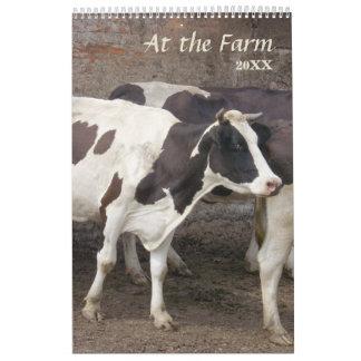 2018 am Bauernhof-Kalender Wandkalender