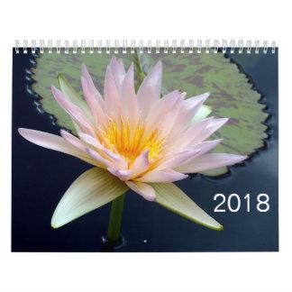 2018 Blumen-Kalender Abreißkalender