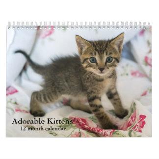 2018 entzückende Kätzchen zwölf Monats-Katze Wandkalender
