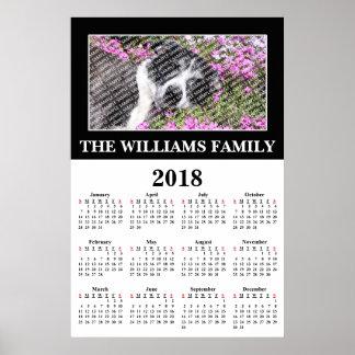 2018 Ihr LieblingsFoto-kundenspezifisches Poster