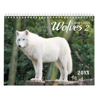 2018 Tier-Fotografie-Kalender der Wolf-2 Wandkalender