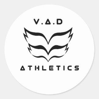 2018 V.A.D Leichtathletik-Logo Aufkleber