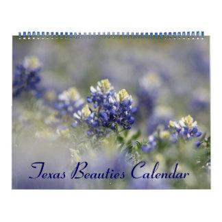 2018 wilde TexasBluebonnets Wandkalender