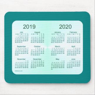 2019-2020 Schuljahr-aquamariner Kalender durch Mousepad