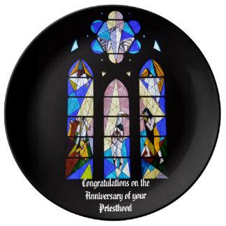 20. 25. 30. 40. 50. des Priester-Jahrestages 15. Porzellanteller