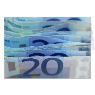 20-Euro - Scheine Karte