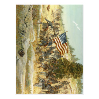 20. freiwilliges Infanterieregiment Maines Postkarte