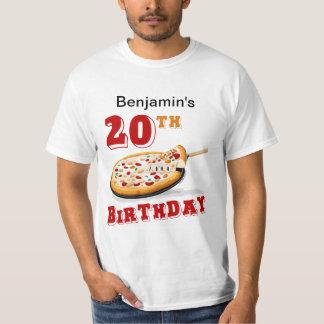 20. Geburtstags-Pizza-Party T Shirt