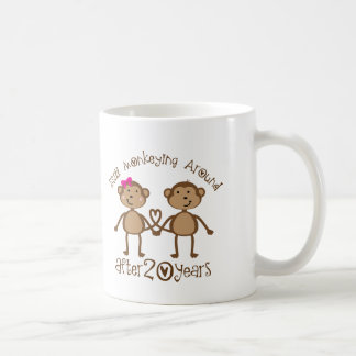 20. Hochzeitstag-Geschenke Tasse