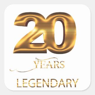 20 Jahre legendäre Aufkleber