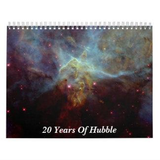 20 Jahre von Hubble Kalender