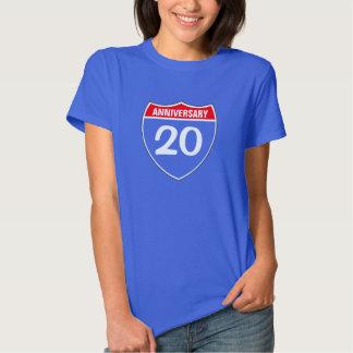 20. Jahrestag Shirts