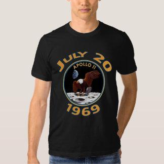 20. Juli 1969 Auftrag Apollo 11 zum Mond T-Shirts