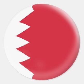 20 kleine Aufkleber Bahrain-Flagge