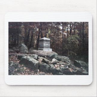 20. Maine-Denkmal auf wenig runde Oberseite Mauspads