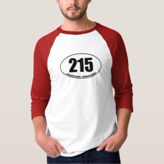 215 Postleitzahl-Philadelphia PA T-Shirt