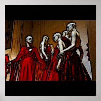 21 - Blut Mascarade Plakat