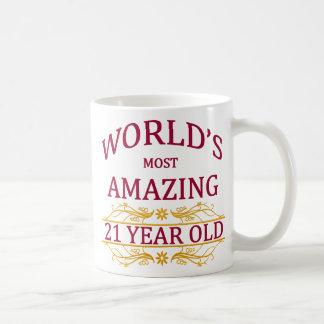 21. Geburtstag Kaffeetasse