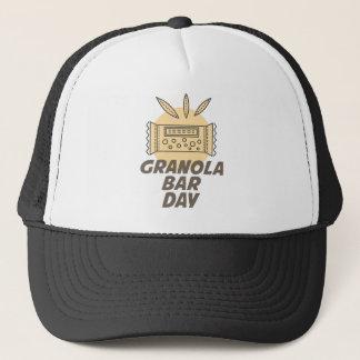 21. Januar - Granola-Bar-Tag Truckerkappe