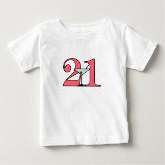 """21"" Martini-Entwurf Baby T-shirt"