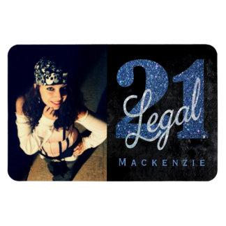 21. Schwarz-Chic-Name des Blau-  legaler Magnet