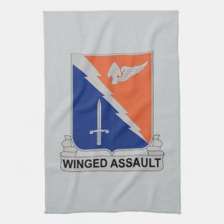 229th Luftfahrt-Regiment - Winged Angriff Geschirrtuch