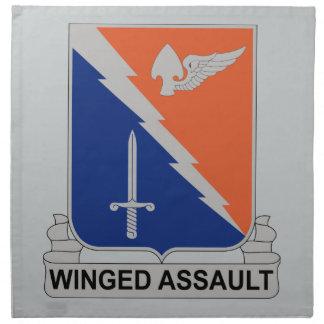 229th Luftfahrt-Regiment - Winged Angriff Stoffserviette