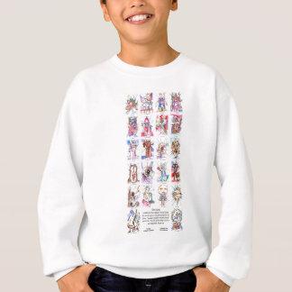 22-Cards (4x6) s Sweatshirt